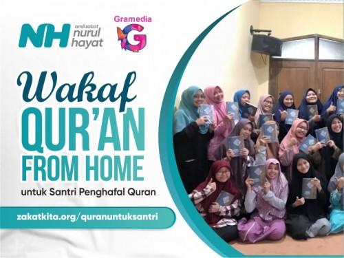 Wakaf Quran Project of Nurul Hayat & PT. Gramedia