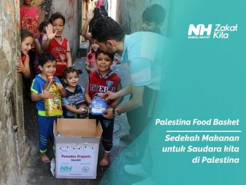 Makanan untuk Saudara di Palestina