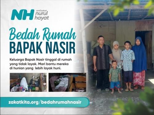 Bedah Rumah Bapak Nasir