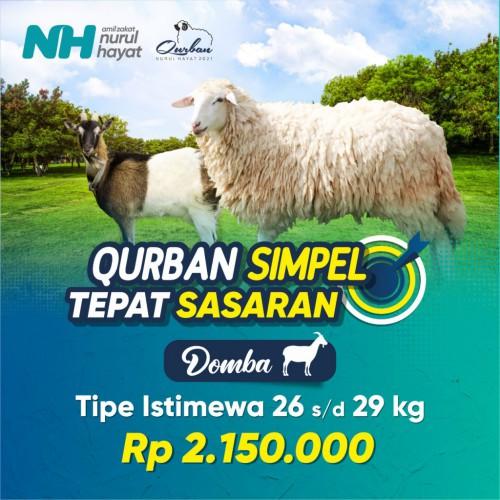Kambing/ Domba Istimewa (Berat hidup 26-29 kg)