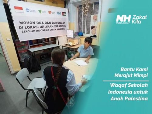 Waqaf Sekolah Indonesia di Palestina