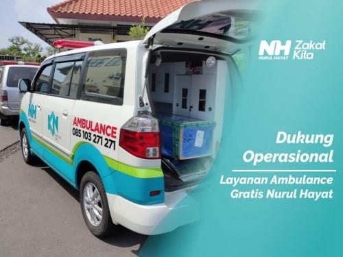 Dukung Operasional Layanan Ambulance Gratis