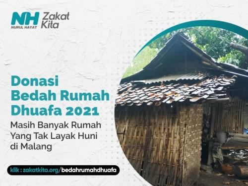 Program Bedah Rumah Tak Layak Huni di Malang Raya