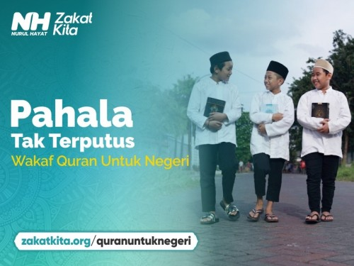 Wakaf 10.000 Al-Quran Untuk Negeri