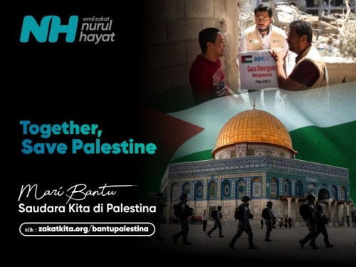 Together Save Palestine: Rifai Hatala Bantu Saudara Kita di Palestina