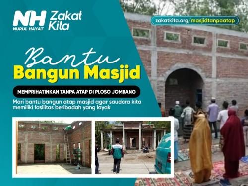 Pembangunan Masjid Tanpa Atap