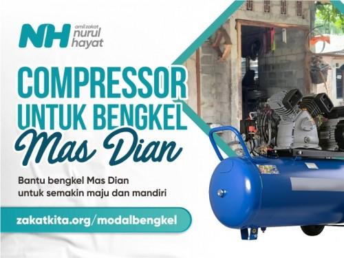 Bengkel Kecil Mas Dian Butuh Compresor
