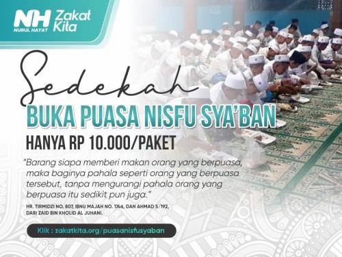 Kejar Pahala Buka Puasa Nisfu Syaban | Mulai 10.000