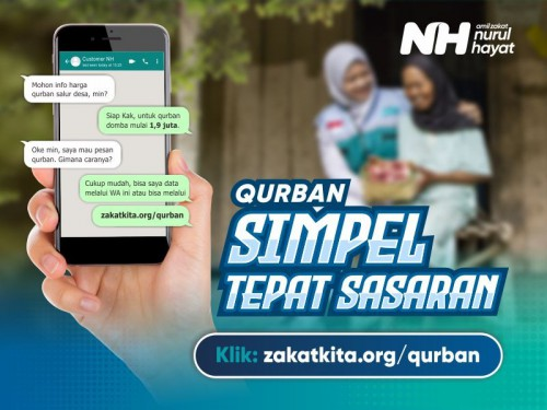 Qurban Simpel Tepat Sasaran