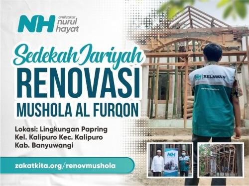Renovasi Musholla Al Furqon